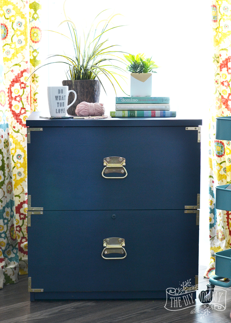 A Campaign Dresser Inspired Filing Cabinet Makeover + Win ...