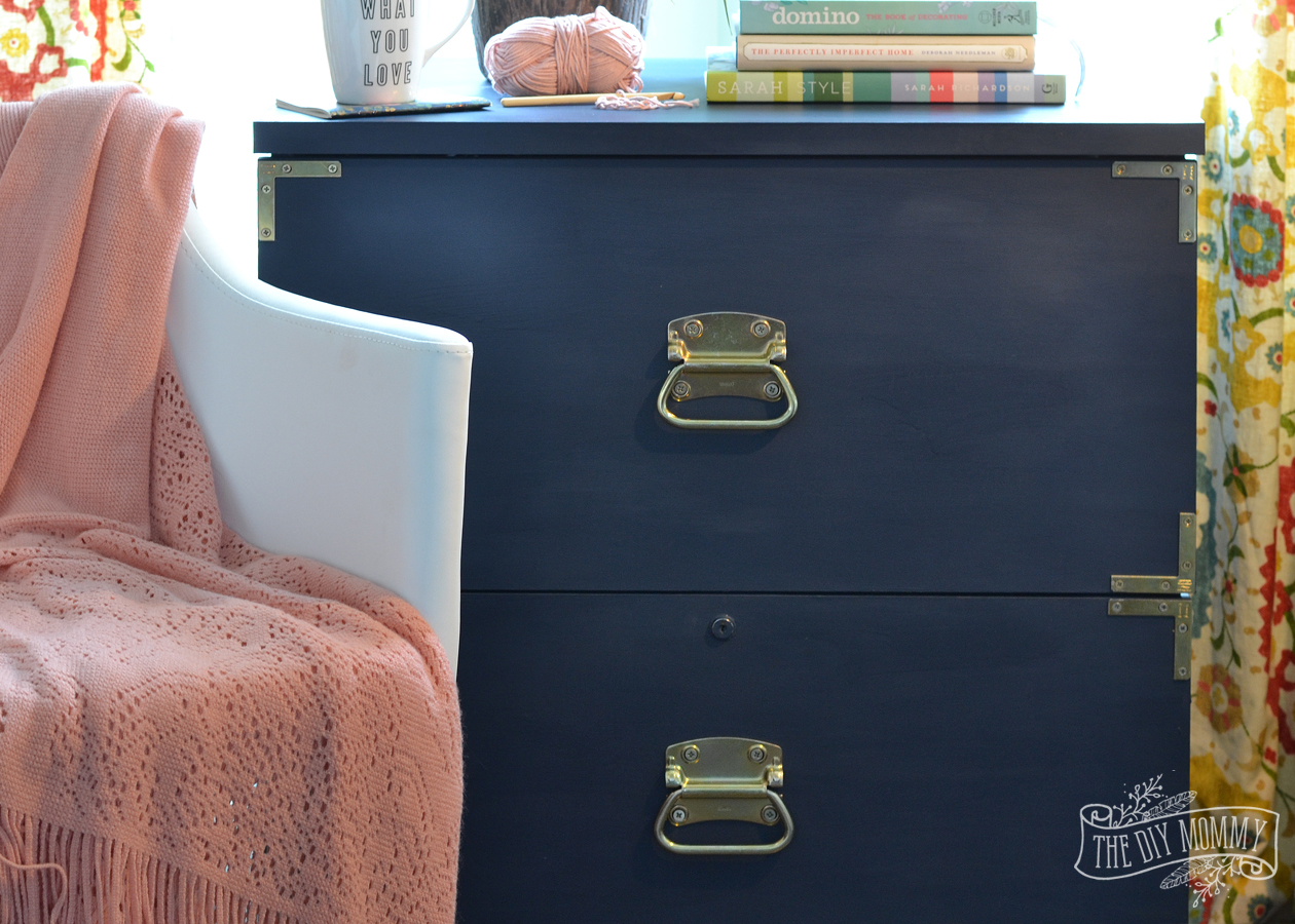 How To Turn An Old Filing Cabinet Or An Old Dresser Into A Gorgeous  Campaign Dresser