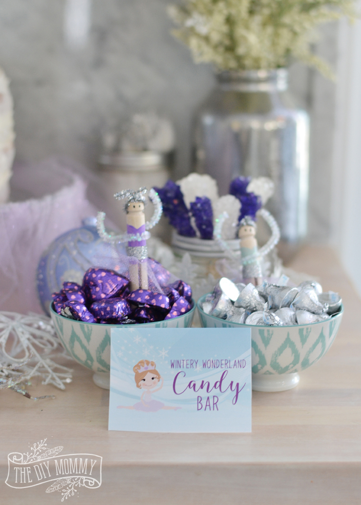 Sugar Plum Fairy Nutcracker Ballerina Party Ideas Diy