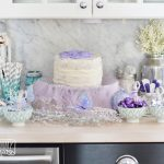 A Sugar Plum Fairy Birthday Party + DIY Glittery Ombre Tutu Skirt Video