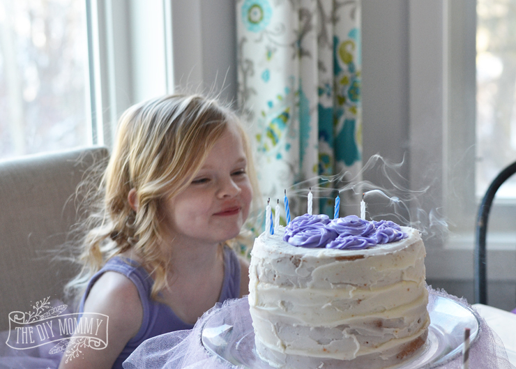A Sugarplum Fairy Birthday Party: Tons of inexpensive and beautiful ideas for a Sugarplum Fairy & Nutcracker themed party! Purple ballerina ideas, DIY tutu instructions, and more!