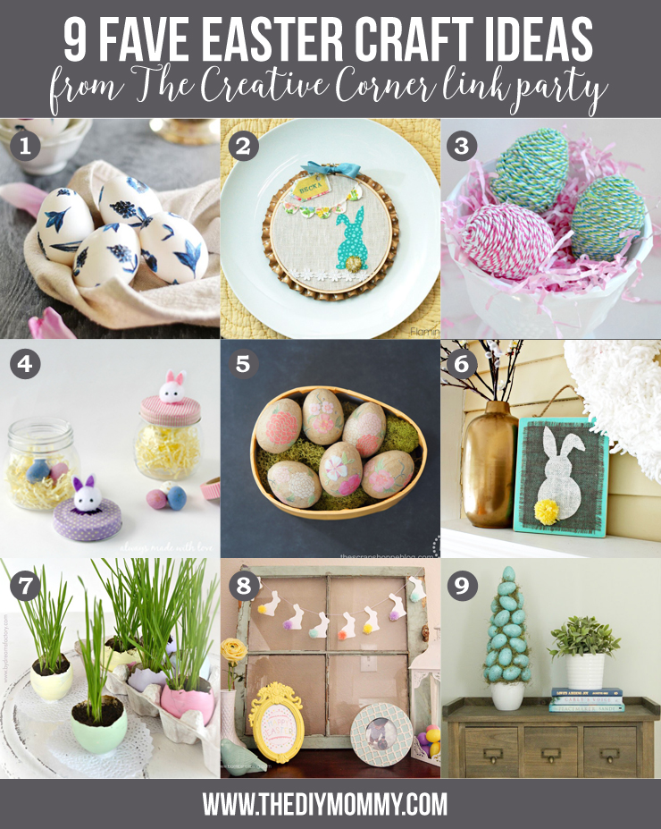 9 Adorable DIY Easter Craft Ideas
