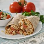 Fast & Easy Whole Grain Chicken Burritos (Thanks to Minute Rice!)