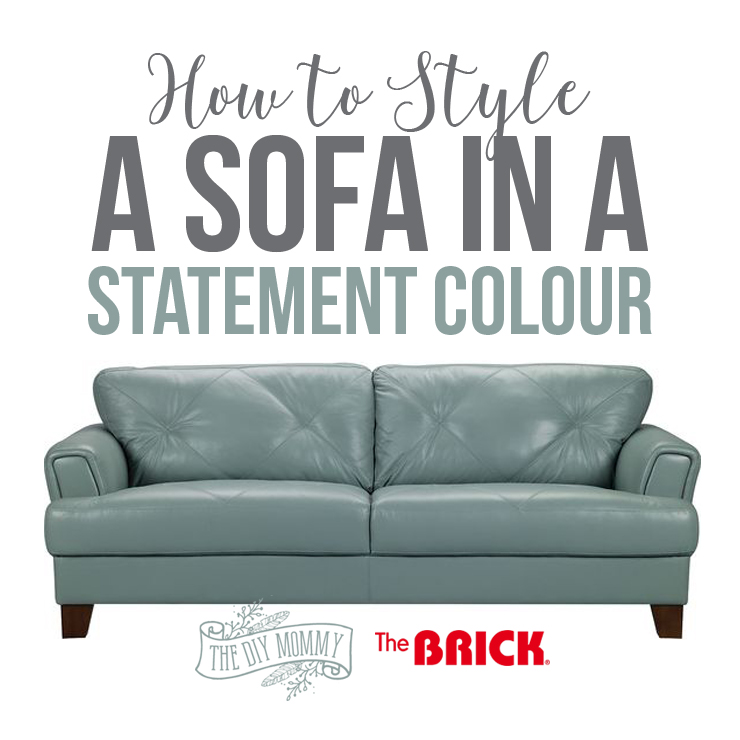 How To Style A Sofa In A Statement Colour For Spring