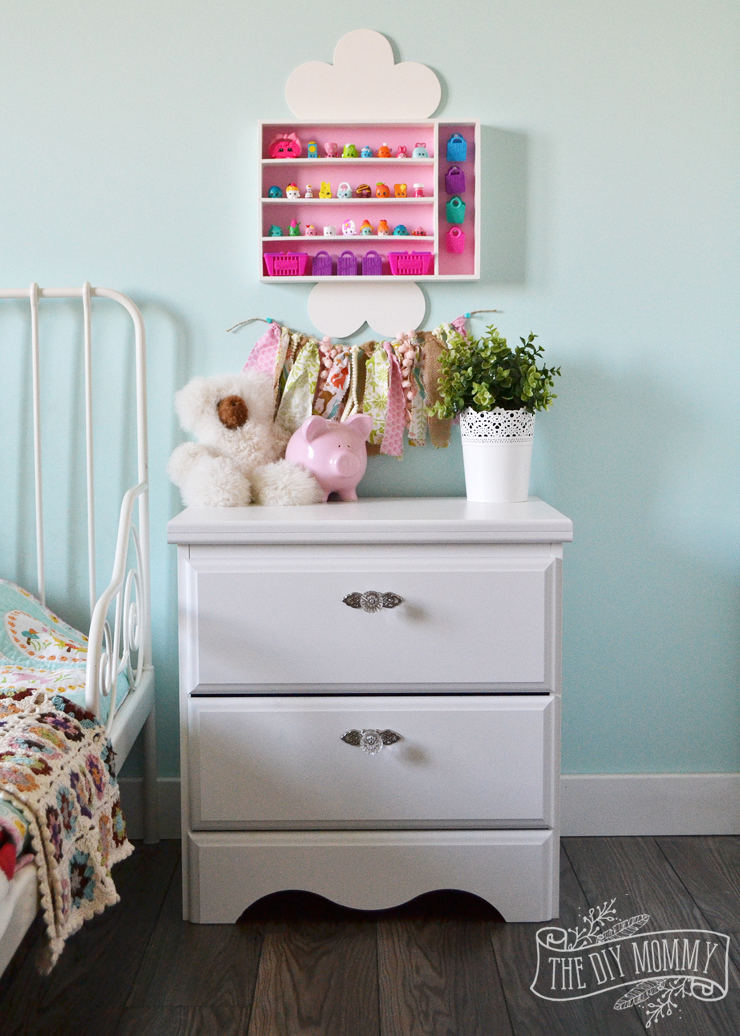 How To Make A Wall Shelf For Kids Collectibles From A Cutlery Tray Little A S New Nightstand The Diy Mommy