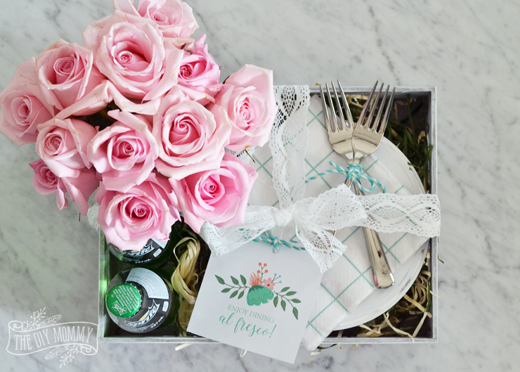 Make An Al Fresco Floral Gift Box For Mother S Day Video The Diy