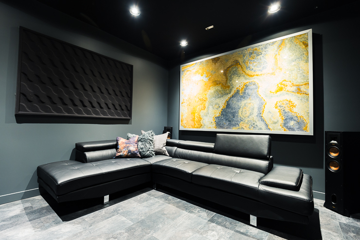 Our Ultra Modern Theater Room Man Cave Reveal The Diy Mommy