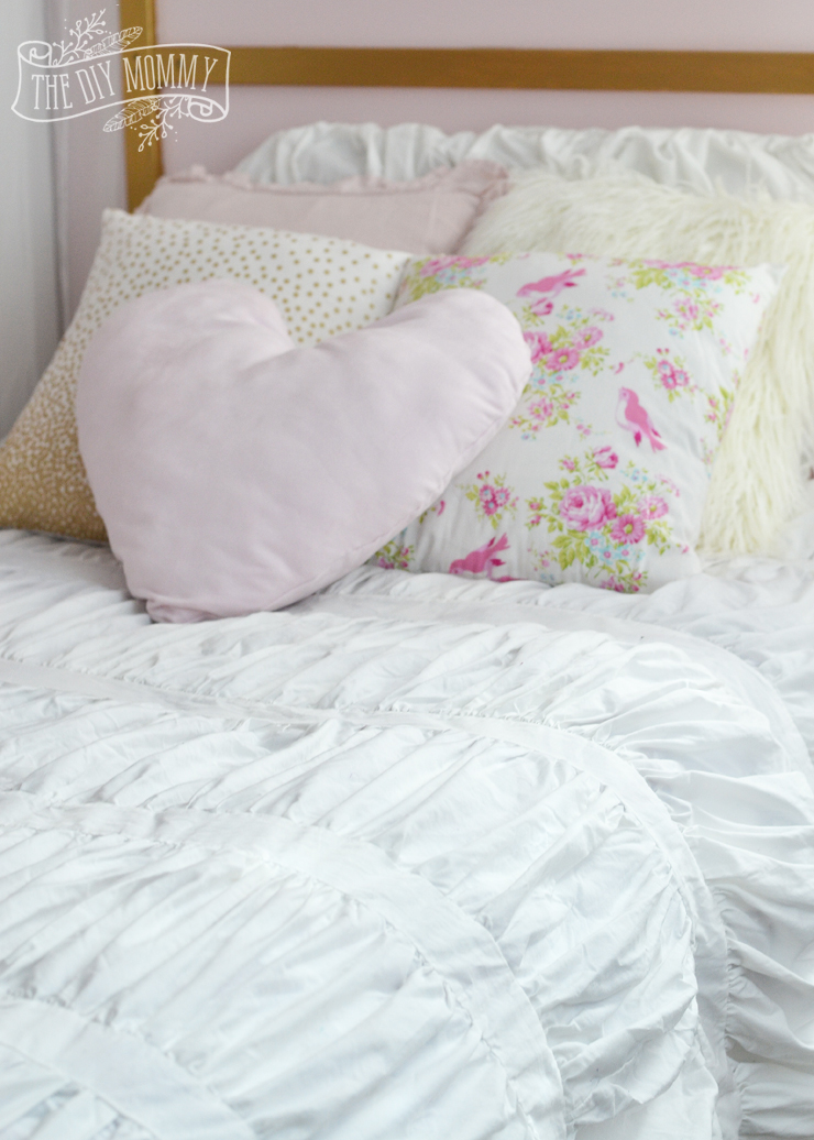 DIY-Shabby-Chic-Glam-Kids-Bedding-Pillows-Duvet-Cover-1