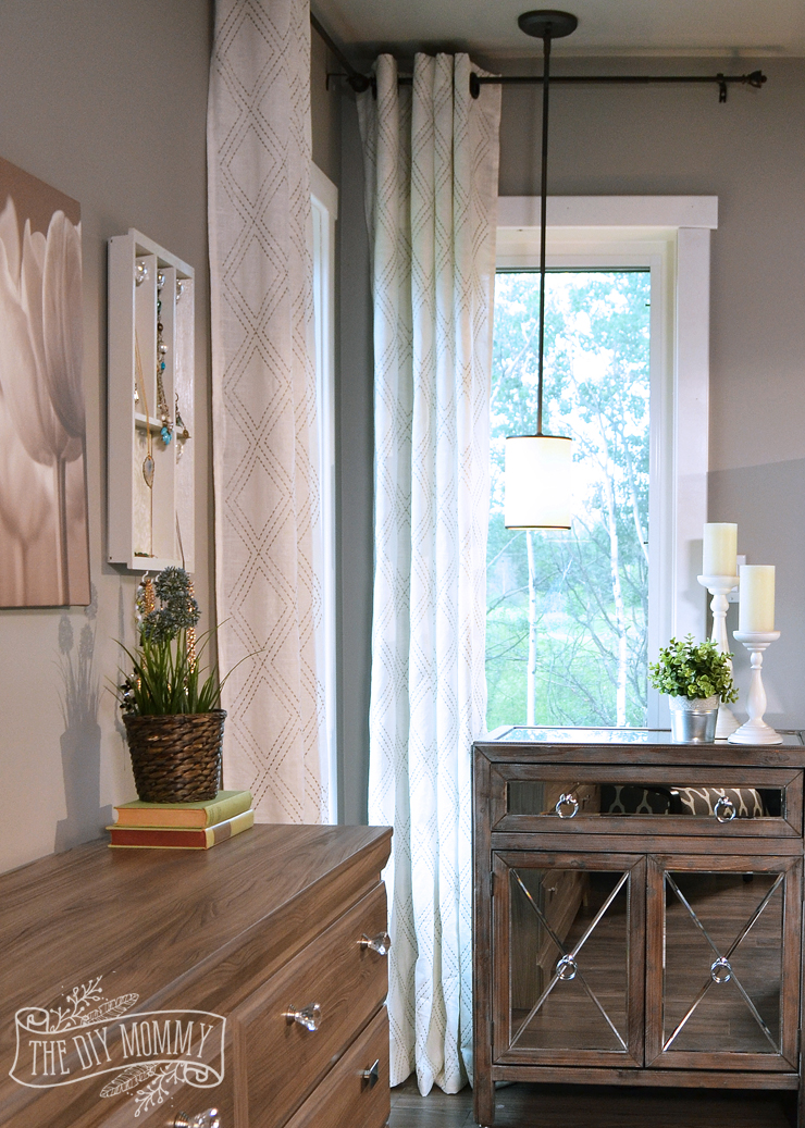How high to hang drapes
