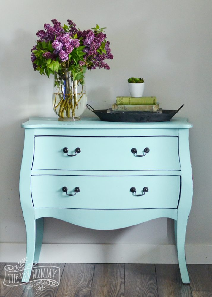 How To Paint A Piece Of Furniture In 3 Hours Shopping