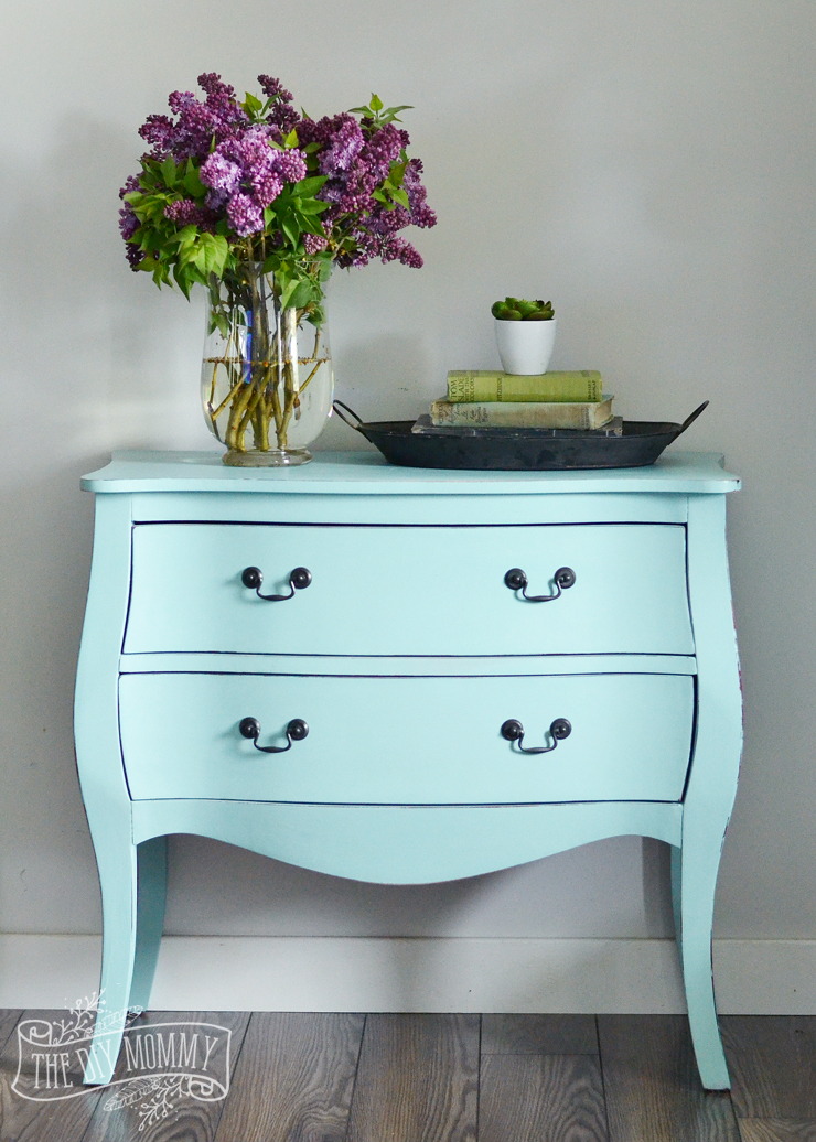 Ordinaire How To Paint A Piece Of Furniture In Under 3 Hours With DIY Chalk Style  Paint