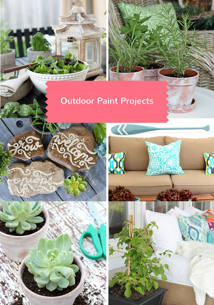 Outdoor Paint Projects