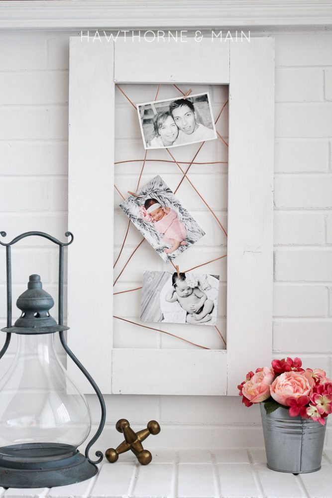 Copper wire photo display the creative corner 96 diy for Home decor 96