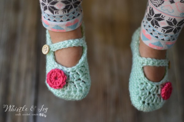 Crochet Mary Jane Toddler Slippers The Creative Corner 98 Diy