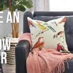 How to Make an Easy Pillow Cover – Tip Tuesday