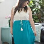 How to Hem a Maxi Skirt or Dress – No Sewing Required!