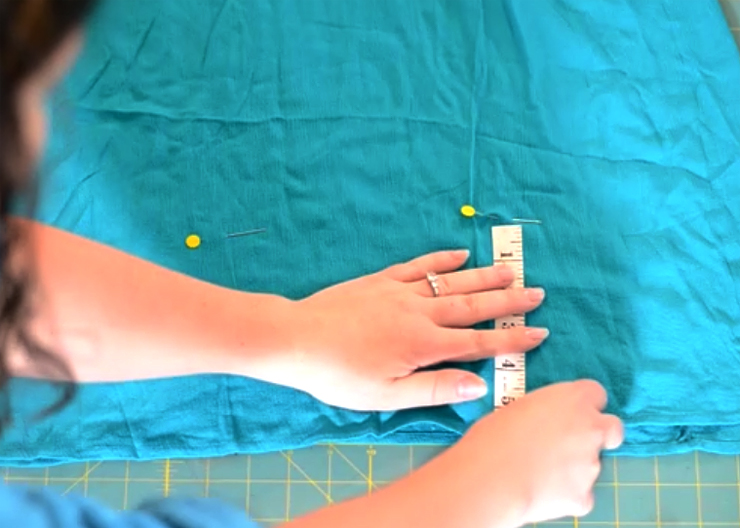 How to make a dress shorter without cutting or sewing