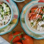 A Quick Greek Rice Bowl for Lunch with Minute Rice