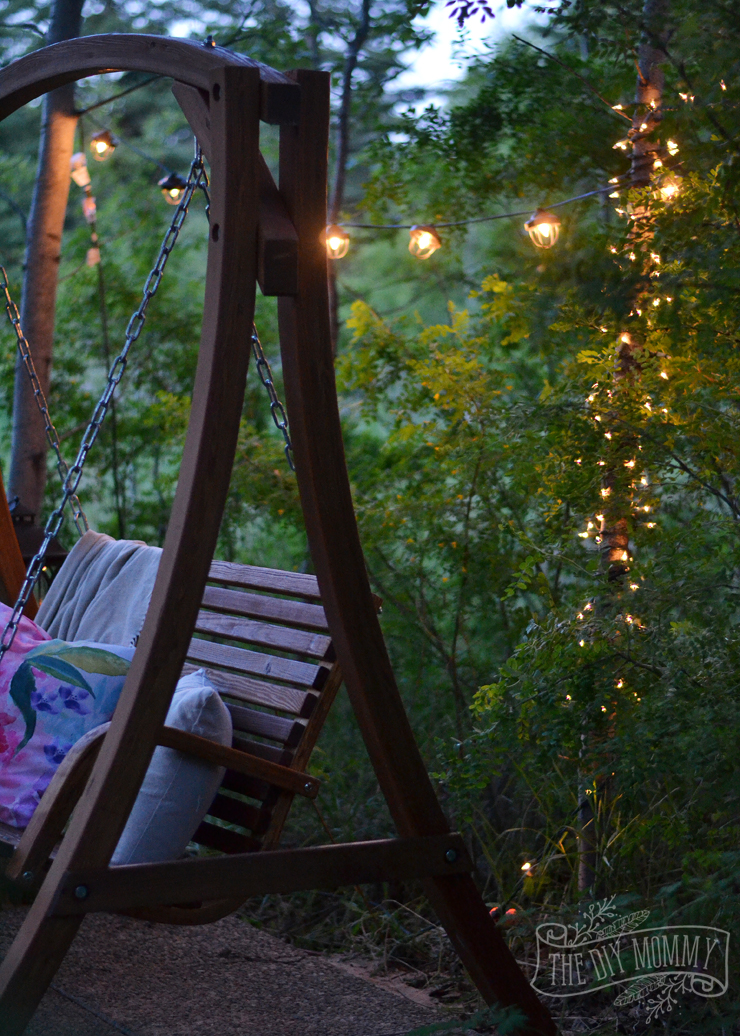 A Secret Garden Swing Retreat