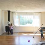 How to Paint Your Home with Kids Underfoot + Our Guest Cottage Update