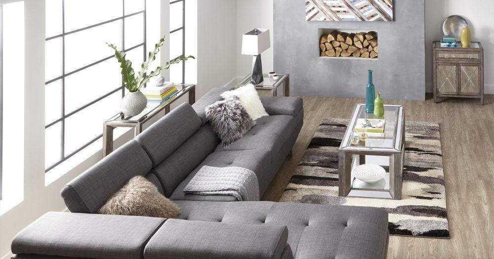 Modern Glam living room