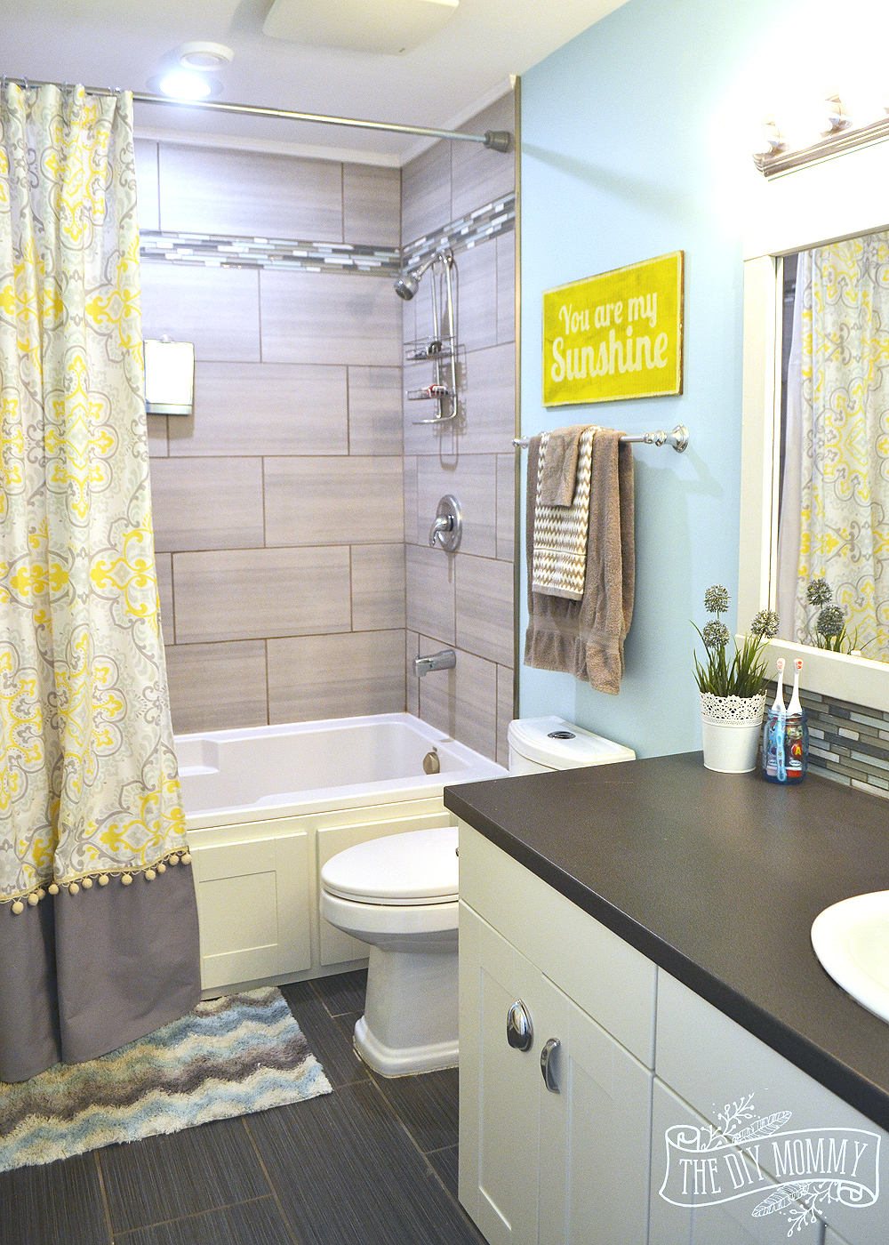 Yellow-Aqua-and-Gray-Kids-Bathroom-18
