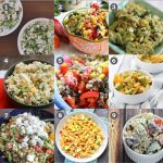 9 Delicious Summer Salad Recipes + The Creative Corner #106: DIY, Craft & Home Decor Link Party