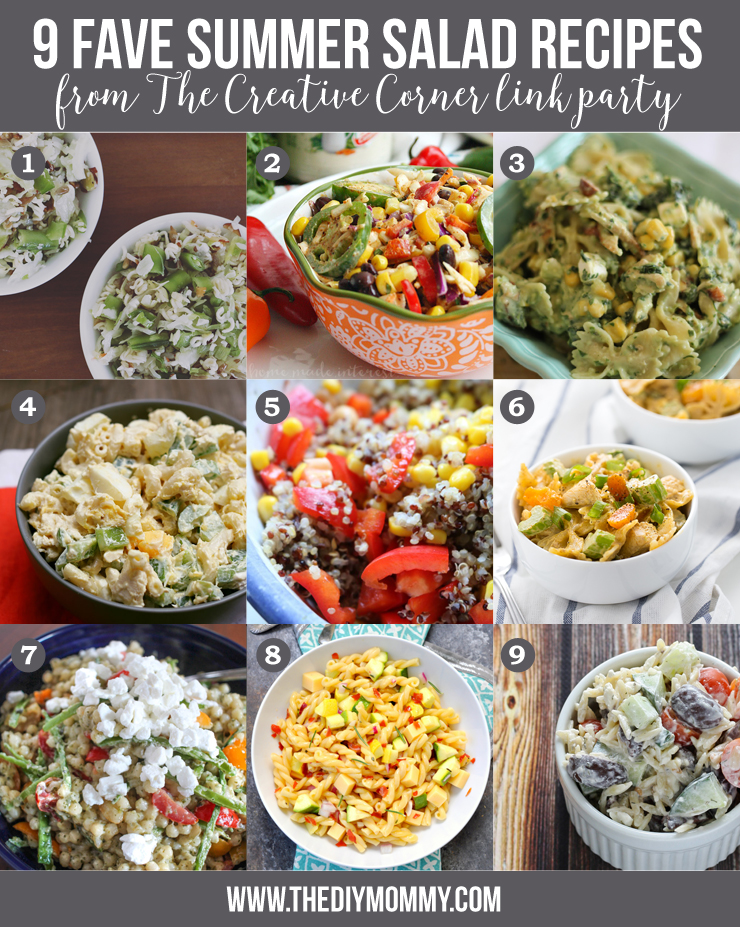 9 Delicious Summer Salad Recipes