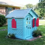 Kids' Playhouse Extreme Makeover + The Creative Corner #105: DIY, Craft & Home Decor Link Party