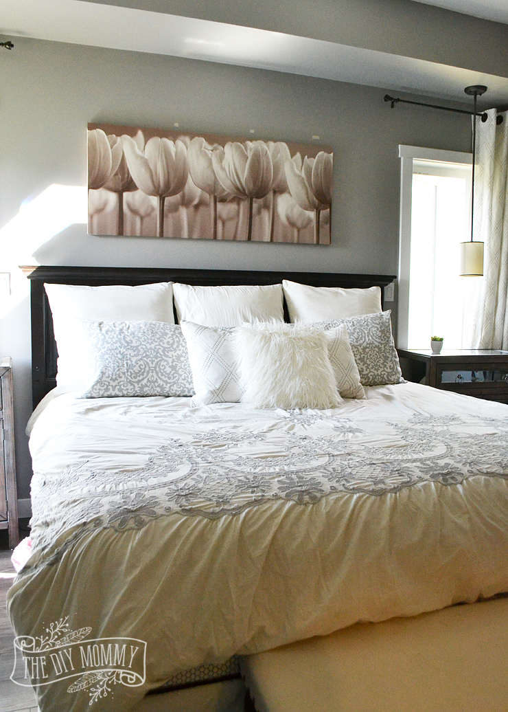 How to Style a King Sized Bed the Easy Way