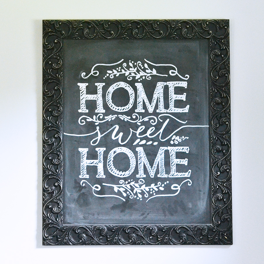 How to make perfect chalkboard art