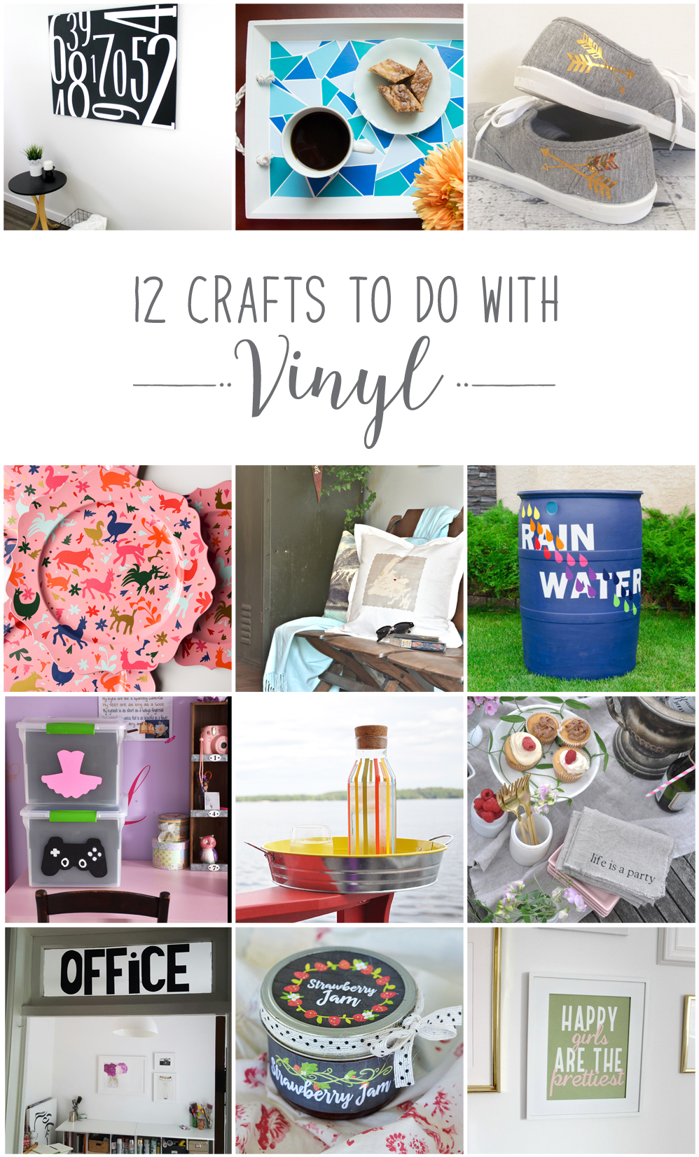 DIY vinyl craft ideas