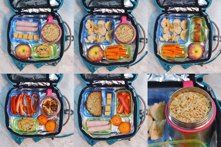 Easy No Sandwich School Lunch Ideas