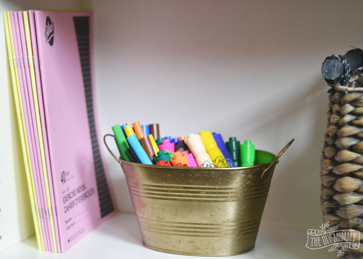 Kids Bedroom Organization Ideas for Back to School