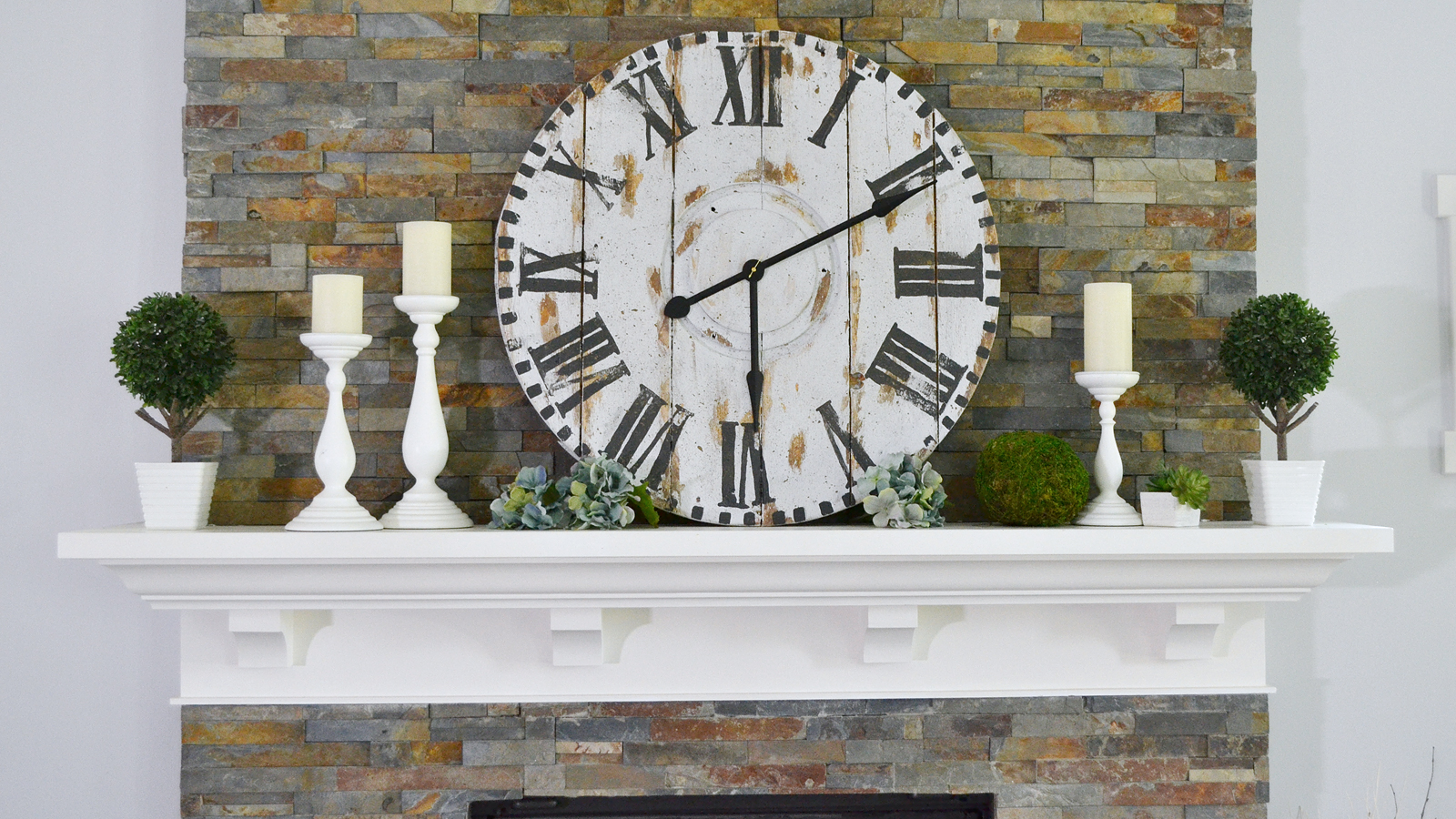 How to Style a Mantel - Video
