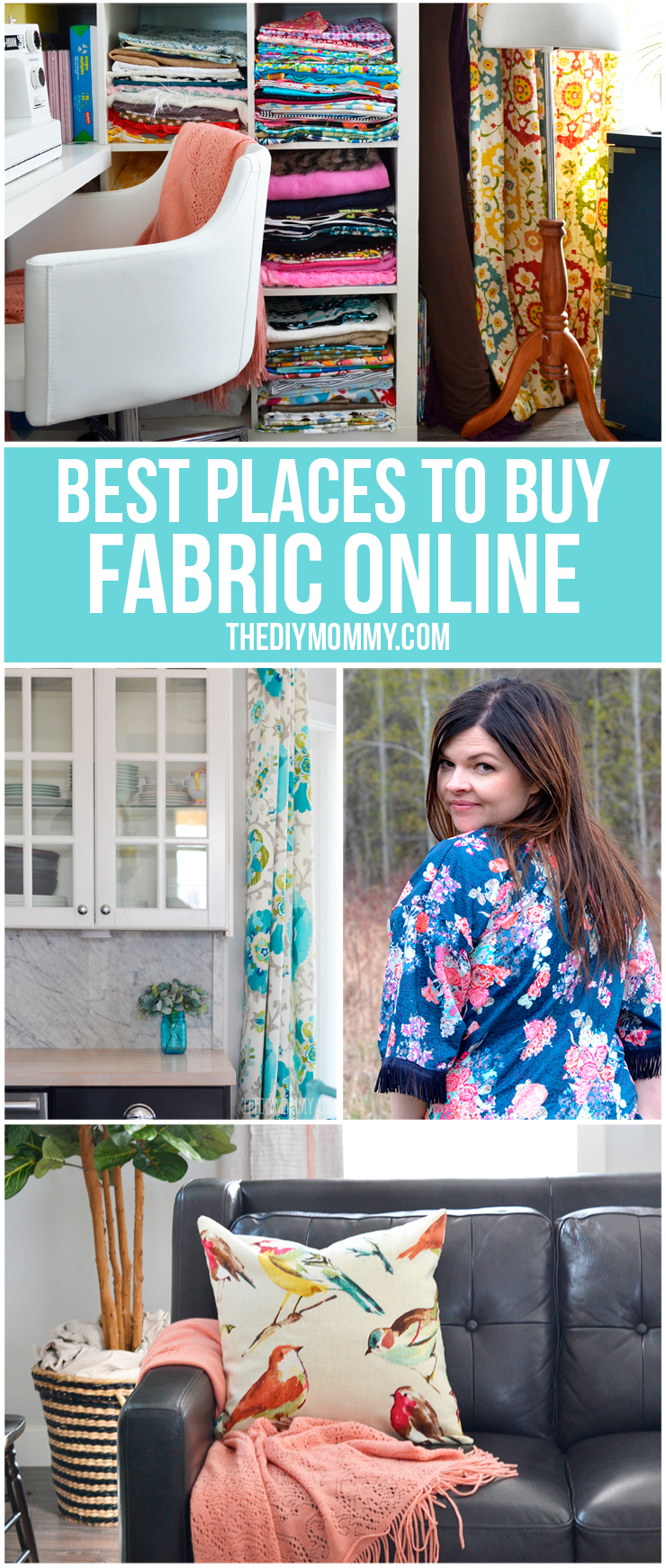 THE best places to buy fabric online from The DIY Mommy