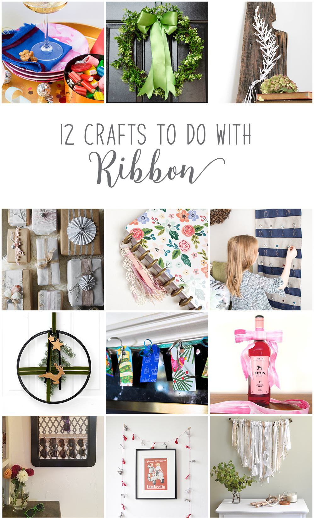 Ribbon Craft DIY Ideas