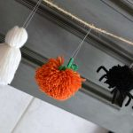 Easy Halloween Garland + The Creative Corner #117: DIY, Craft & Home Decor Link Party