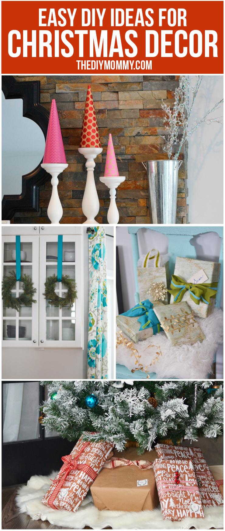 Easy DIY Ideas for Christmas Decor