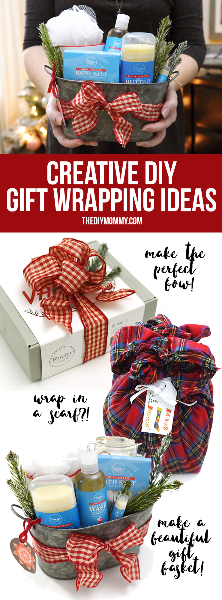 Creative Holiday Christmas Gift Wrapping Ideas