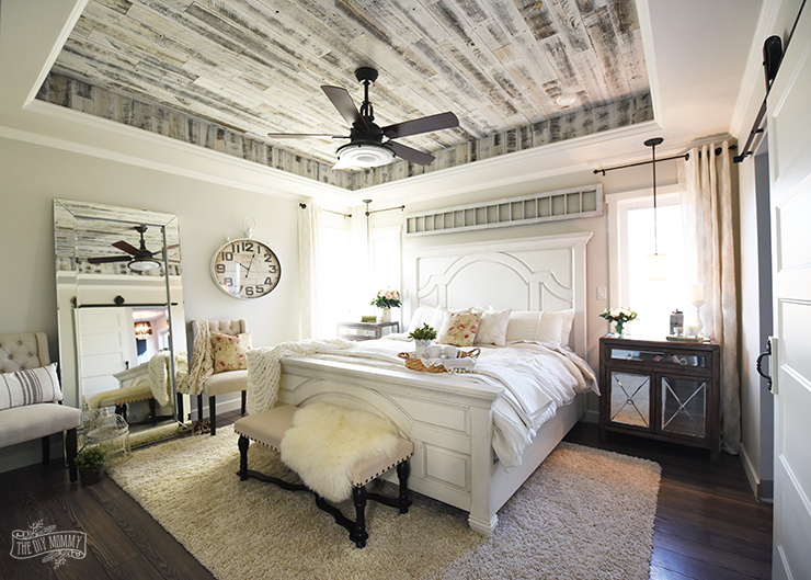 Our Modern French Country Master Bedroom – e Room Challenge Reveal