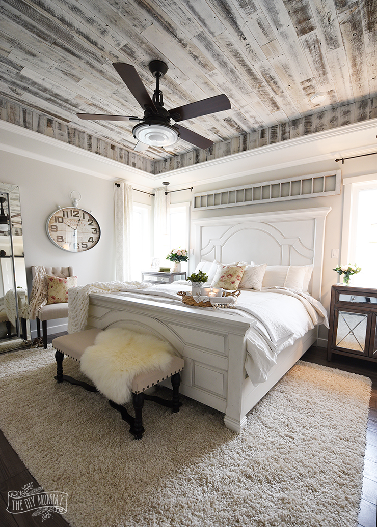 Interior Country Master Bedroom Ideas our modern french country master bedroom one room challenge farmhouse design