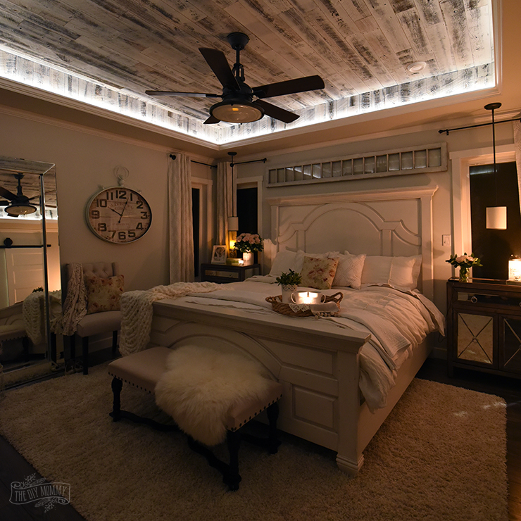 our modern french country master bedroom one room 11311 | modern farmhouse french country master bedroom 22