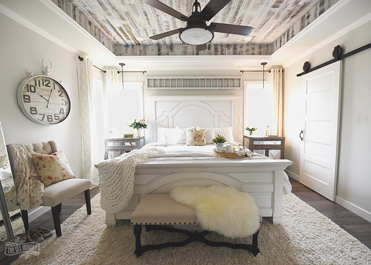 Interior Country Master Bedrooms our modern french country master bedroom one room challenge farmhouse design