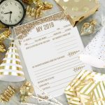 2018 Year in Review New Years Eve Printable