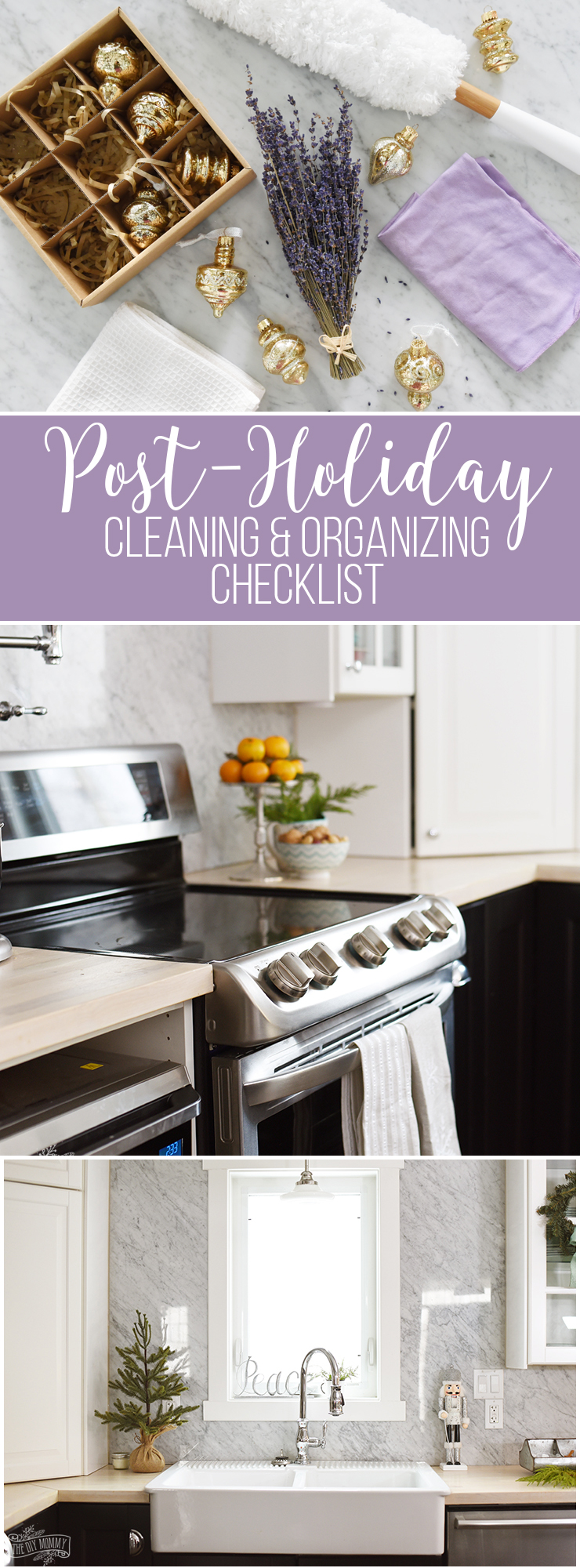 Checklist for Cleaning and Organizing After the Holidays