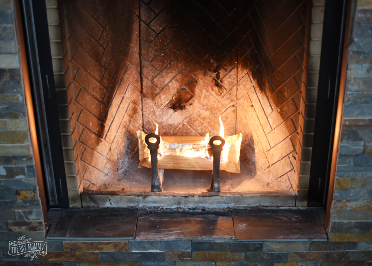 Duraflame Crackleflame Fire Log