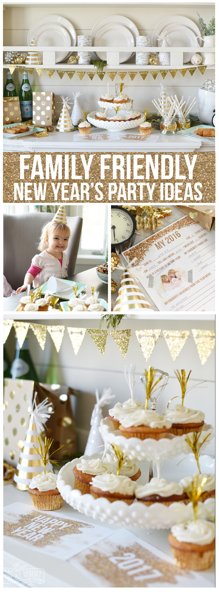 family friendly new years party ideas the diy mommy. Black Bedroom Furniture Sets. Home Design Ideas