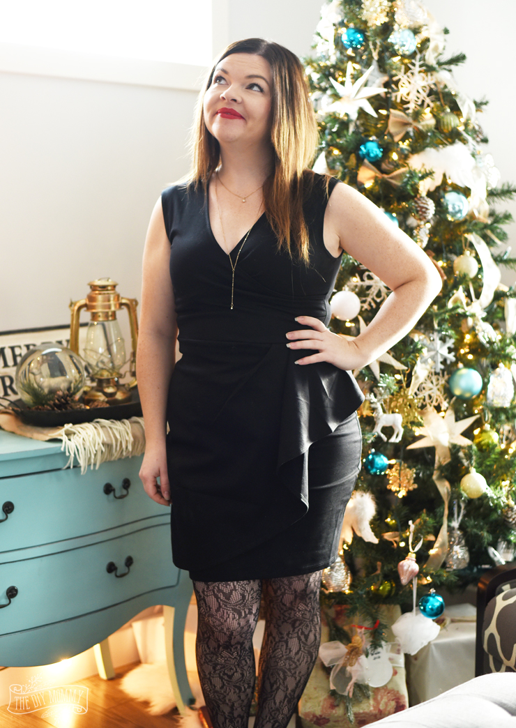 The Little Black Dress: Petite Curvy Mom Style