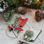 Popsicle Stick Sled Ornaments + The Creative Corner #126: DIY, Craft & Home Decor Link Party